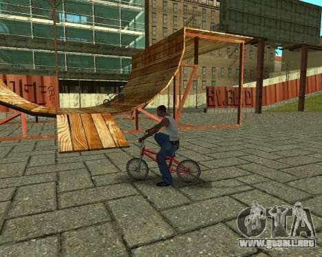 New HD Glen Park para GTA San Andreas octavo de pantalla