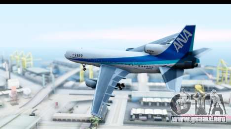 Lockheed L-1011-100 TriStar All Nippon Airways para GTA San Andreas left