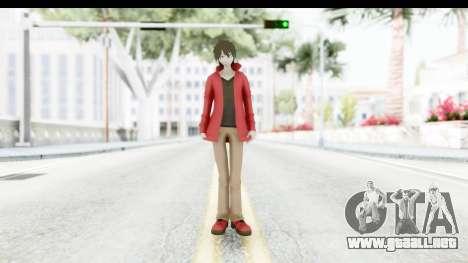 Shintaro Kirasagi (Kagerou Project) para GTA San Andreas segunda pantalla