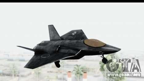 CoD Black Ops 2 - FA-38 para GTA San Andreas vista posterior izquierda