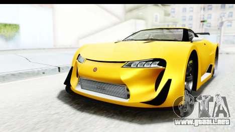 GTA 5 Emperor ETR1 v2 SA Lights para la visión correcta GTA San Andreas