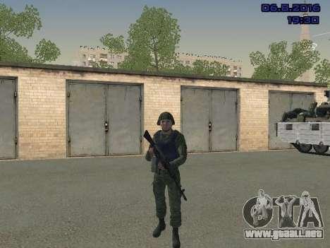 El conductor de la MIA para GTA San Andreas sucesivamente de pantalla
