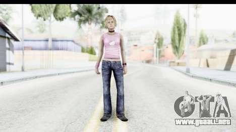 Silent Hill 3 - Heather Sporty Light Pink HK para GTA San Andreas segunda pantalla