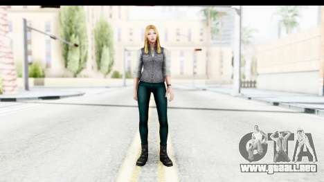 Marvel Future Fight - Sharon Carter (Civil War) para GTA San Andreas segunda pantalla