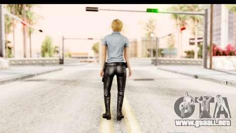 Silent Hill Shattered Memories - Cybil para GTA San Andreas tercera pantalla