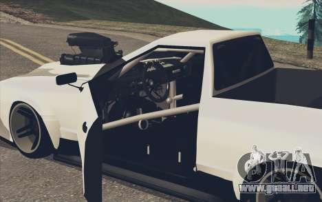 Elegy Ibragim para GTA San Andreas left