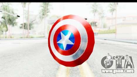 Capitan America Shield Classic para GTA San Andreas
