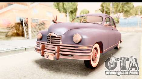 Packard Standart Eight 1948 Touring Sedan para la visión correcta GTA San Andreas