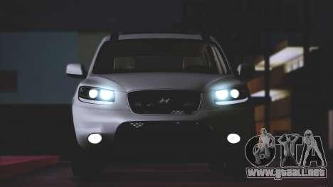 Hyundai Santa Fe Stock para GTA San Andreas left
