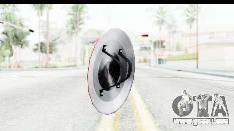 Capitan America Shield Classic para GTA San Andreas segunda pantalla