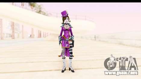 Borderland - Moxi Purple para GTA San Andreas segunda pantalla