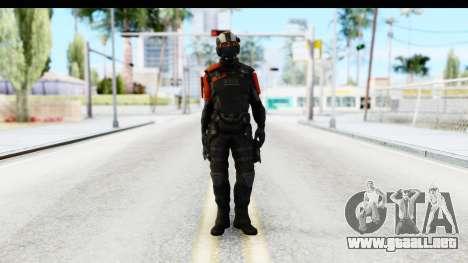Homefront The Revolution - KPA v4 Black para GTA San Andreas segunda pantalla