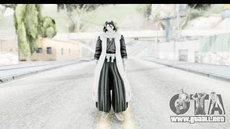 Bleach - Byakuya para GTA San Andreas segunda pantalla
