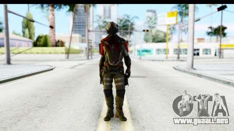 Homefront The Revolution - KPA v1 Dead para GTA San Andreas segunda pantalla