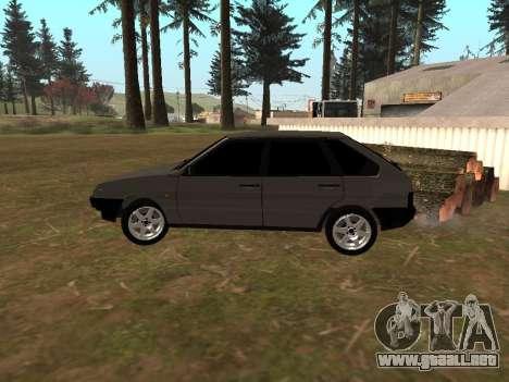 2109 Clásicos para GTA San Andreas vista posterior izquierda