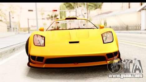 GTA 5 Progen Tyrus SA Style para GTA San Andreas