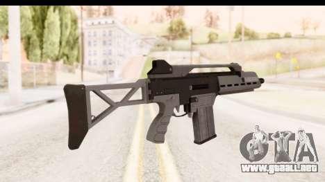 GTA 5 Vom Feuer Special Carbine para GTA San Andreas segunda pantalla