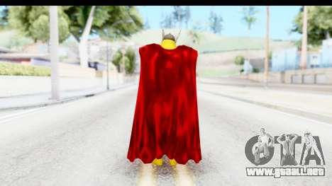 Marvel Heroes - Thor para GTA San Andreas tercera pantalla