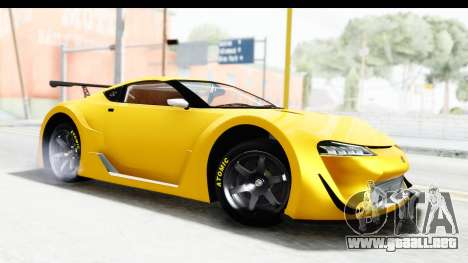 GTA 5 Emperor ETR1 v2 SA Lights para GTA San Andreas