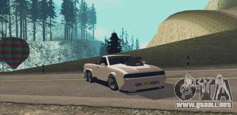 Elegy Ibragim para la visión correcta GTA San Andreas