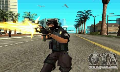 NextGen cambiado el skin original SWAT para GTA San Andreas