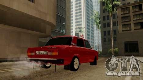 rus_racer ENB v1.0 para GTA San Andreas segunda pantalla