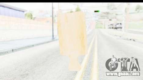 Cutting Board para GTA San Andreas tercera pantalla