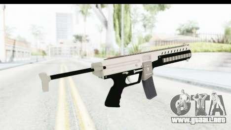 GTA 5 Coil Combat PDW para GTA San Andreas segunda pantalla