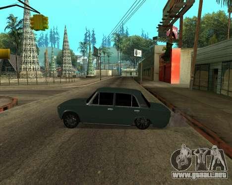 VAZ 2101 Armenian para vista lateral GTA San Andreas