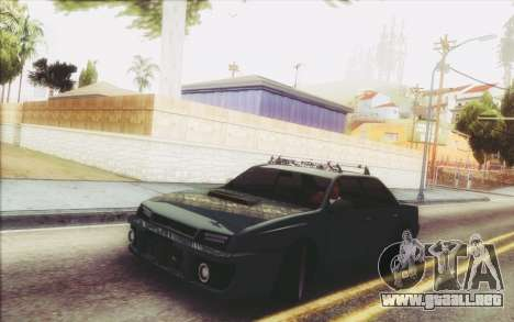 New Stance Sultan para GTA San Andreas left