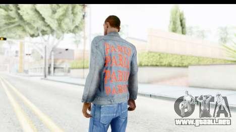 PABLO Denim Jacket para GTA San Andreas segunda pantalla