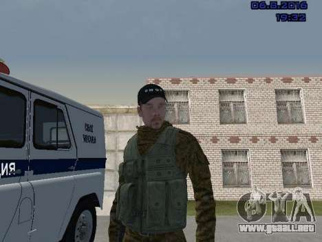 Policía para GTA San Andreas