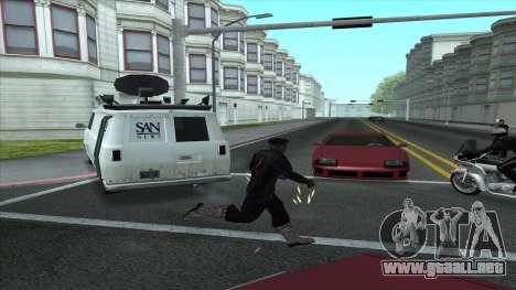 Newsvan Follow You para GTA San Andreas segunda pantalla