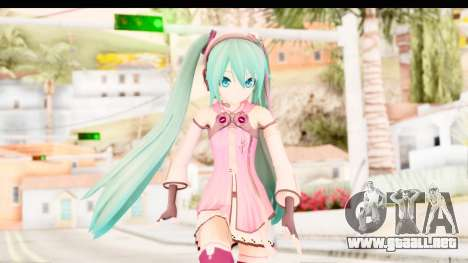 Project Diva F - Hatsune Miku Vocal Star Remade para GTA San Andreas