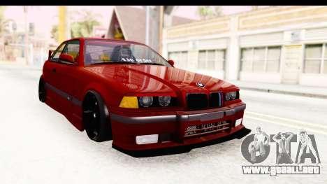 BMW M3 E36 Spermatozoid Edition para la visión correcta GTA San Andreas