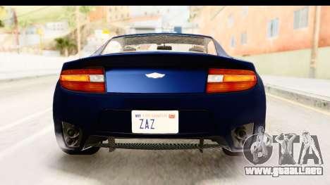 GTA 5 Dewbauchee Rapid GT para vista inferior GTA San Andreas
