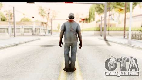 Left 4 Dead 2 - Zombie Surgeon para GTA San Andreas tercera pantalla