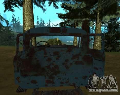 Viejo oxidado de GAS 53 para GTA San Andreas segunda pantalla
