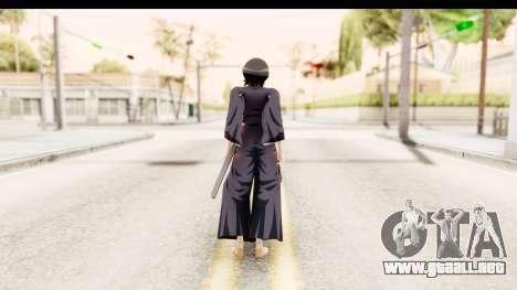 Bleach - Rukia para GTA San Andreas tercera pantalla