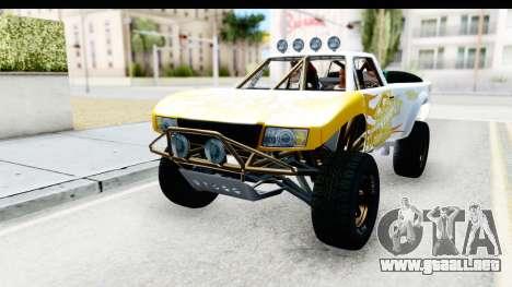GTA 5 Trophy Truck SA Lights PJ para vista lateral GTA San Andreas