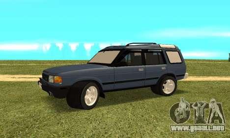 Land Rover Discovery 2B para la visión correcta GTA San Andreas