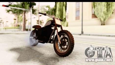 GTA 5 Western Cliffhanger Stock IVF para la visión correcta GTA San Andreas