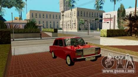 rus_racer ENB v1.0 para GTA San Andreas quinta pantalla