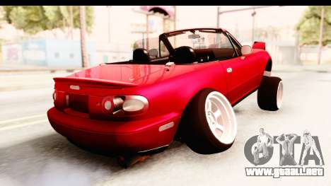 Mazda Miata with Crazy Camber para GTA San Andreas