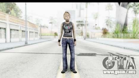Silent Hill 3 - Heather Sporty Dark Gray Obama para GTA San Andreas segunda pantalla