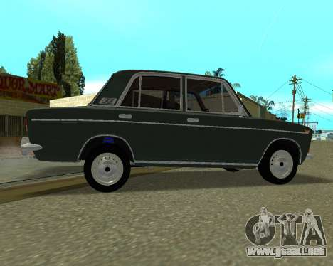 VAZ 2103 armenia para visión interna GTA San Andreas