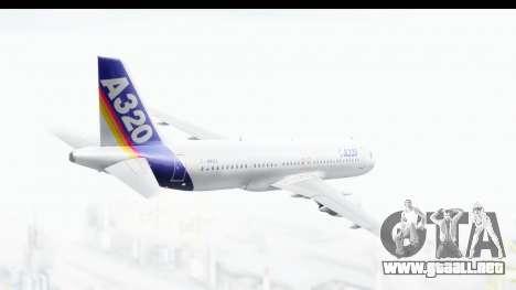 Airbus A320-200 Industrie MSN 1 1987 First Fligh para la visión correcta GTA San Andreas