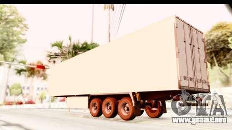 Trailer ETS2 v2 New Skin 2 para GTA San Andreas left