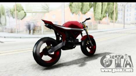 Custom Stunt FCR9000 para GTA San Andreas left