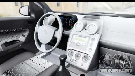 Ford Fiesta 2004 para visión interna GTA San Andreas